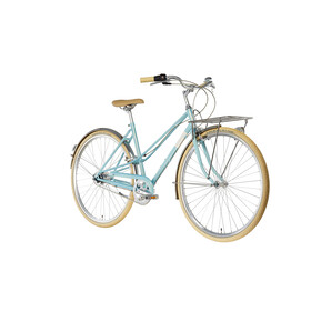 Creme Caferacer Solo City Bike Women turquoise